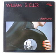 LP/ William Sheller - Simplement / 1983  Philips - Autres - Musique Française