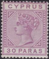 Cyprus    .   SG  .    32     .    *  .     Mint-hinged    .   /    .   Ongebruikt - Cyprus (...-1960)
