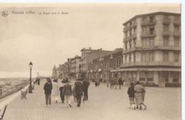 Knokke - Knocke S/Mer - La Digue Vers Le Zoute - Hôtel De La Plage - Knokke