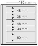 SAFE 605 PA Dual Blanko 5erPack - Briefmarken