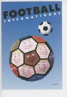 A L'occasion De La Coupe Du Monde 1998 (16è édition) Football International - Affiche Léo Kouper (tirage Limité) Cp Vier - Football