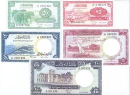 Sudan 5 Note Set 1961 COPY - Soudan