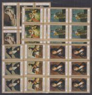 K907. 6x Manama - MNH - Art - Paintings - Arts