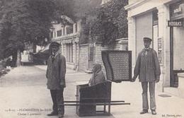 PLOMBIERES-LES-BAINS // Chaise à Porteurs - Plombieres Les Bains