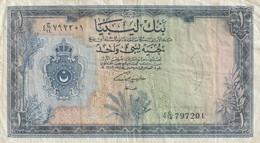 1 POUND 1963 - Libye