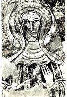 Vals Fresque Romane - La Vierge De L'Annonciation - France