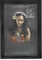 CPA Tahiti Océanie Polynésie Française Circulé Types Femme Girl Women - Tahiti