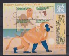 J633. Dominica - MNH - Art - Painting - Lunar New Year - Arts