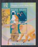 J633. Grenada Carriacou - MNH - Art - Painting - Lunar New Year - Arts