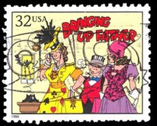Etats-Unis / United States (Scott No.3000d - Bande Dessinée / Comic Strip) (o) - United States