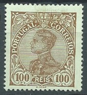 Portugal - Yvert N° 163 * -  Bce 17313 - 1910 : D.Manuel II