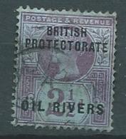 Côte Du Niger / Niger Coast - Oil Rivers  - Yvert N° 4  Oblitéré  -  Bce 17333 - Nigeria (...-1960)