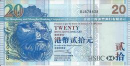 HONG-Kong   20  Dollars   2003   -- UNC  - - Hong Kong