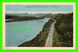 NEW BRUNSWICK - RIVIÈRE RESTIGOUCHE L'EST DU ROCHER DE MORRISSEY - H. V. HENDERSON - - Nouveau-Brunswick