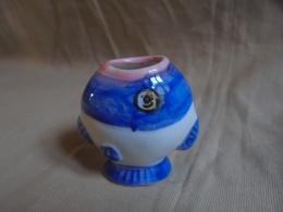 """Vintage - Mini Vase """"Poisson"""" - Animaux"""