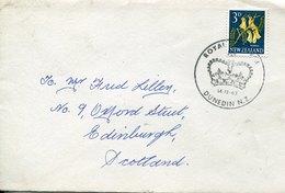 44509 NEW ZEALAND,  COVER CIRCULED 1963 TO Scotland - Nouvelle-Zélande