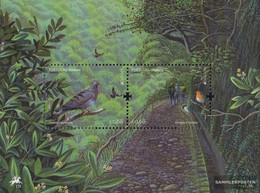 Portugal - Madeira Block49 (complete Issue) Unmounted Mint / Never Hinged 2011 Forest - Madeira