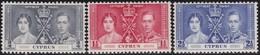 Cyprus   .   SG  .     148/150        .    *  .     Mint-hinged    .   /    .   Ongebruikt - Zypern (...-1960)