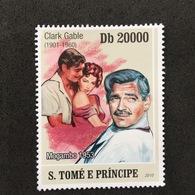 S.TOMÉ E PRÍNCIPE. CLARK GABLE. MNH D1201E - Acteurs