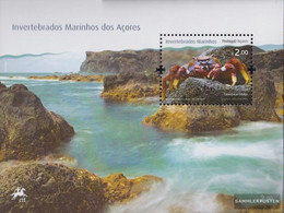 Portugal - Azores Block45 (complete Issue) Unmounted Mint / Never Hinged 2010 Seafood - Azores