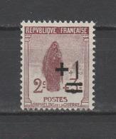 """FRANCE / 1922 / Y&T N° 162 ** : """"2ème Orphelins"""" (Veuve Au Cimetière +1c S/2c+3c) - Gomme D'origine Intacte - Ongebruikt"""
