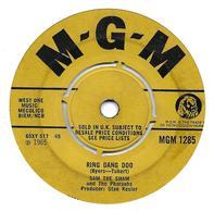 "Sam The Sham And The Pharaohs  ""  Ring Dang Doo  "" - Vinyles"