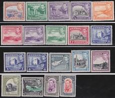 Cyprus   .   SG  .     151/163        .    *  .     Mint-hinged    .   /    .   Ongebruikt - Cyprus (...-1960)