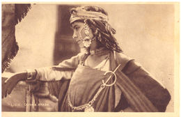 LIBIA - DONNA ARABA --- E0676 - Libia