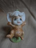 Vintage - Petite Statuette Pour Enfant Souriceau Des Champs - Animals