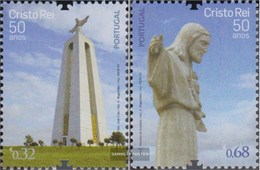 Portugal 3411-3412 (complete Issue) Unmounted Mint / Never Hinged 2009 Christ-statue - 1910-... Republic