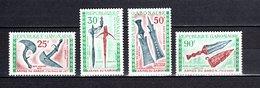 GABON PA N° 98 à 101  NEUFS SANS CHARNIERE COTE 5.00€  ARME - Gabon (1960-...)