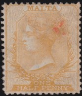 Malta   .   SG  .     9  (2 Scans)       .    *  .     Mint-hinged    .   /    .   Ongebruikt - Malte (...-1964)