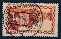 """SARRE - SAAR - Mi Nr 110 -  Stempel """"WIEBELSKIRCHEN (SAAR)"""" - (Ref. 23) - 1920-35 Société Des Nations"""