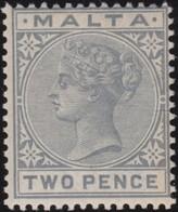 Malta   .   SG  .     23      .    *  .     Mint-hinged    .   /    .   Ongebruikt - Malta (...-1964)