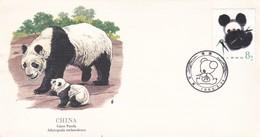 CHINE, 1er Jour Panda Géant, 24 - 5 - 1985 - 1949 - ... République Populaire