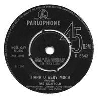 "The Scaffold  ""  Thank U Very Much  "" - Vinyles"
