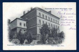 Arlon. Pensionnat Des Soeurs De Notre Dame.Côté Du Jardin, Avenue Tesch.   1906 - Arlon