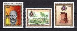 GABON  PA N° 108 à 110   NEUFS SANS CHARNIERE COTE  20.00€  NAPOLEON - Gabon (1960-...)