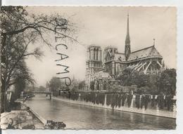 Notre-Dame De Paris. La Cathédrale. Vue Sud-ouest à Partir De La Seine. - Notre Dame De Paris