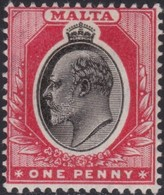Malta     .   SG  .     48       .    *  .     Mint-hinged    .   /    .   Ongebruikt - Malta (...-1964)