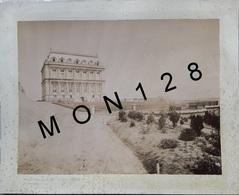 CORSE LA PUNTA AJACCIO-CHATEAU POZZO DI BORGO-LT CARDINALI -PHOTO DIM 33x25 Cms COLLEE SUR CARTON DUR -ENVIRON DE 1900 - Lieux