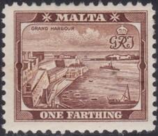 Malta     .   SG  .     45a      .    *  .     Mint-hinged    .   /    .   Ongebruikt - Malta (...-1964)