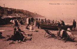 CPA 14 VILLERS SUR MER La Culture Physique - Villers Sur Mer
