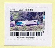 Privatpost - Biberpost - Eisenbahn - Sncf FRET 437 - Eisenbahnen