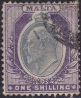 Malta     .   SG  .    44      .    O  .     Cancelled    .   /    .   Gebruikt - Malta (...-1964)
