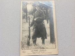 Photo Carte Prince Léopold Militaire Militaria - Cartes Postales