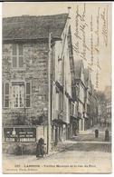LANNION  Vieilles Maisons De La Rue Du Port  Waron, Dos Simple (pub Elixir D'Armorique) - Lannion