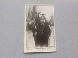 Photo Carte  Militaire Militaria Soldat Avec Cheval  Bons Camarade - Cartes Postales