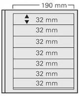 SAFE 617 PA Blankoblatt Per 5 - Briefmarken
