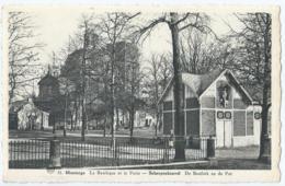 Scherpenheuvel - Montaigu - 31 - La Basilique Et Le Puits - De Basiliek En De Put - Uitg. J. Sieben - 1952 - Scherpenheuvel-Zichem